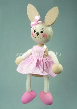 Nyuszi lány, rózsaszín
