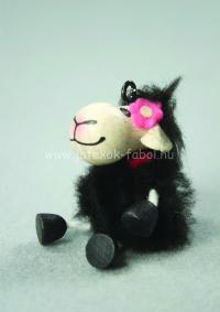 Mini bárány lány, fekete