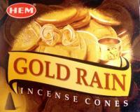 Kúp füstölő - arany eső